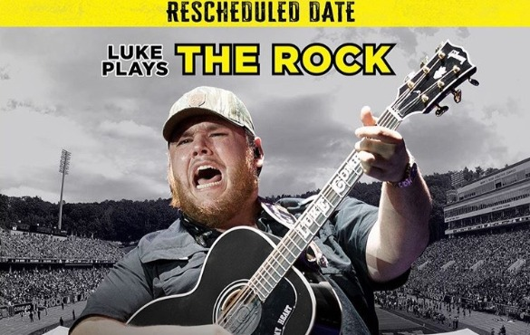 Luke Combs back to Appalachian State